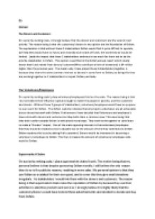 Stakeholder Analysis Essay Sample