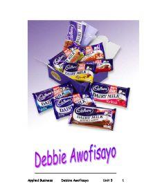 company overview and study of cadbury management essay Cadbury plc essays and research papers | examplesessaytodaybiz  cadbury world a case study an overview of cadbury world, its origins, history and operations 1 .