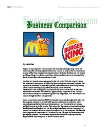 strategies and promotions for burger business essay What a re key promotion strategies of the  a top position in the industry adidas was back in business what make the brand successful in term of promotion strategy.