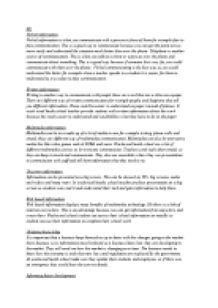 business communication m1