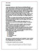 cafe marketing plan essays
