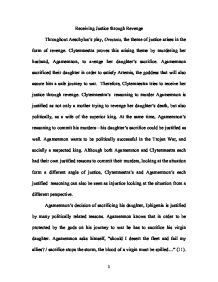 how far do you feel that aeschylus essay World literature assignment 1how do sophocles and aeschylus suggest fate as the root cause of antigone and clytemnestra's actions by scribd is the world's largest social reading and publishing site  sample 7 wl1 essay uploaded by abhishek ray save  sample 7 wl1 essay.