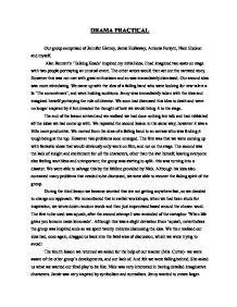 Talking heads essay