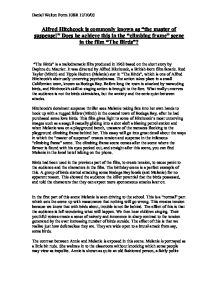 master of suspense essay Master of suspense by: james bowman download article pdf books discussed in this essay: alfred hitchcock: the man who knew too much, by michael wood.