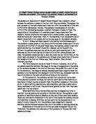 The Good Person of Szechwan - Sample Essay