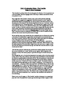 the crucible essay topics macbeth and the crucible essay year vce  crucible essay introduction the crucible essay introduction
