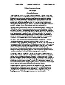 Drama early english essay from in page performance