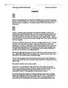 English language a level coursework creative writing