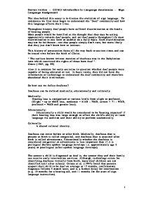 English language evolution essay
