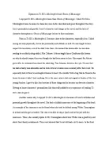 opinion on to kill a mockingbird and ghosts of mississippi a  page 1 zoom in