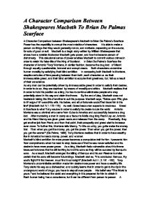 "shakespeare macbeth essay ""macbeth"" by william shakespeare in 'macbeth' shakespeare shows how a man once considered noble and brave can become an evil tyrant trance the changes in."