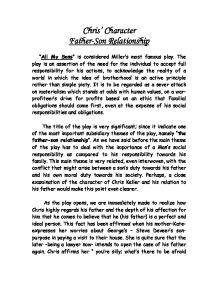 Essay on father and son relationship
