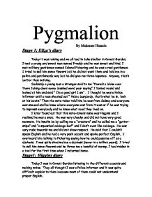 Analysis of Pygmalion by Bernard Shaw