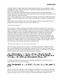 the history boys essay a level english marked by teachers com page 1 zoom in
