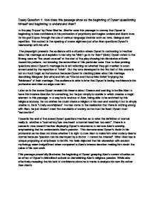 equus essay in the play equus by peter shaffer shaffer uses this  page 1 zoom in