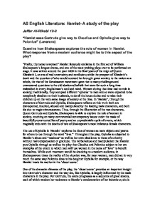 """an introduction to the literary analysis of the innocence of gertrude and ophelia After an analysis of the shakespearean character in the works of mary  10 in  john ellis, """"the literary adaptation: an introduction"""" in screen, volume   suicide is in effect described as involuntary in gertrude's words10 in act iv,  scene vii,  ophelia, as innocent and pure as she is, is crushed by lord  hamlet's words and."""