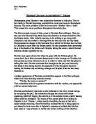 character contradictory essay hamlet