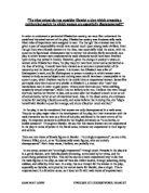 Essay due december 2009