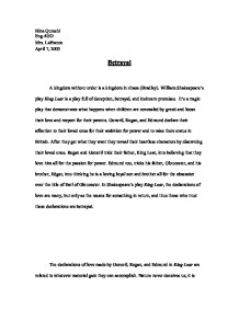 Abraham Lincoln Essay Paper Caaapu An Evaluation Essay Essay On King Lear Good Vs Evil What Is The Thesis Of A Research Essay also Analysis And Synthesis Essay  Technical Writing Essentials  Rutgers Writing Program  A Thesis For An Essay Should