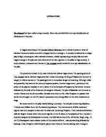 Tempest essay introduction