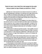 isobel dixon uses language essay Western illinois university students have the advantages of large universities - accomplished faculty  macomb, il 61455 usa phone: (309) 298-1414.