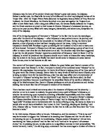 """""""ulysses"""" by tennyson summary"""