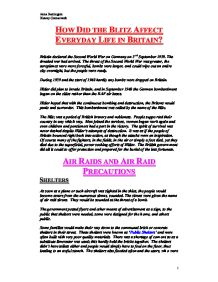 the blitz in britain essay Women in world war two ks2 (no rating) 0 customer reviews  britain 1930-1997 :  powerpoint covers background on the blitz with descriptive writing task.
