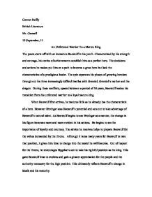 Essay Paper Writing Beowulf Hero Essay Img G Beowulf Epic Hero Essay Free Essay  Narrative Essay Examples High School also Persuasive Essay Topics For High School Characteristics Of A Hero Essay  Underfontanacountryinncom English Essays For High School Students