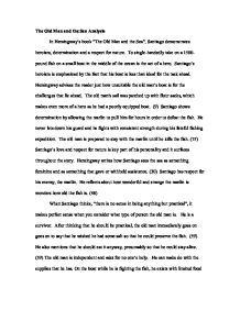 old man and the sea analysis essay From a general summary to chapter summaries to explanations of famous quotes, the sparknotes the old man and the sea study guide has everything you need to ace.