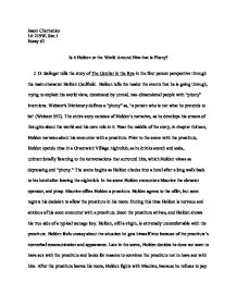 Close reading essay