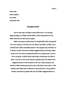 page 1 zoom in - Examples Of Satire Essays