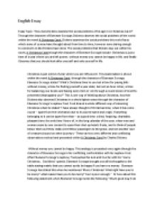 essay topic how does dickens examine the social problems of his page 1 zoom in