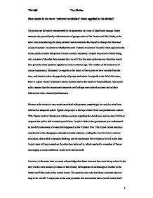 The sixties essay