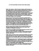 global names essay Open document below is a free excerpt of outline for global warming from anti essays, your source for free research papers, essays, and term paper examples.