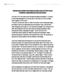 Thesis Persuasive Essay Page  Zoom In Essays On Science Fiction also How To Write Essay Proposal Through Close Analysis Of Its Content And Style Show How Fat May  High School Essays Examples