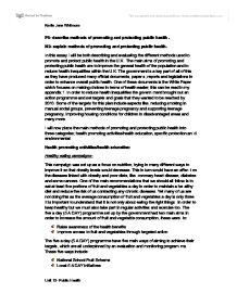 health and safety 3 essay 3 methods of evaluating and integrating organisational systems  (published by  the health and safety commission in 1993) by saying `that it is the product of.