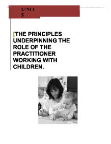 the role of the early years practitioner essay What makes a successful early years practitioner  a thoughtful essay on the qualities of a good early years  role in reforming child care practices.