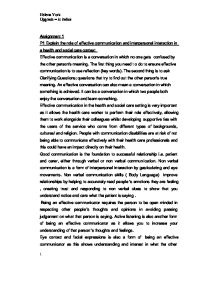 Shakespeare Essay Questions Page  Zoom In Five Paragraph Essay Example also Persuasive Essay On No Homework Explain The Role Of Effective Communication And Interpersonal  Argumentative Essay On Childhood Obesity