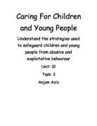 safeguarding children and young people essay