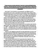 Close Reading Essay Template Apa