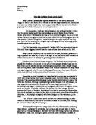 why did the civil war begin in 1642 essay