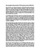 henry and wolsey s foreign policy Extracts from this document introduction who controlled english foreign affairs in 1515-1529 - henry or wolsey a common view of henry viii's and wolsey's foreign policy is that it was a failure.