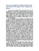 how far was henry vii's control A level tudor history henry vii nobility and control a level tudor history henry vii - how did henry vii how i'm revising a-level history so far.