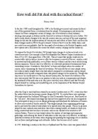 assess the role of political factors in causing rebellions in tudor england essay The political situation in mid-tudor england 1536-88 historians generally accepted that the mid-sixteenth century was a time of political conflict and confrontation in england- a period of failure and lack of progress, set between the great achievements of the 1530s and the recovery of the national economy under elizabeth i.