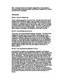 Iraq war essay conclusion