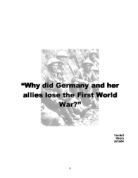 why did the allies win world war 2 Russians react nervously to any narrative about world war ii that differs from their own when the united states, britain or france pay tribute to their countrymen who fought and defeated adolf.