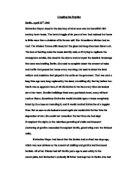 Creative Writing: American Soldier in Iraq Essay