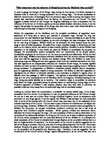 Essay On Computers How Important Was The Takeover Of Kingship During The  Narration Essays also Persuasive Essay About Homework Medieval Europe And Africa Comparative  Alevel History  Marked By  Cause And Effect Expository Essay