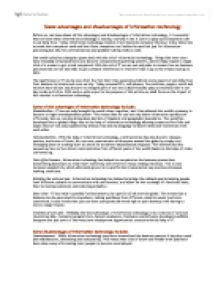 Essay On Modern Science Advantages And Disadvantages