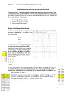 c3 coursework maths ocr mei
